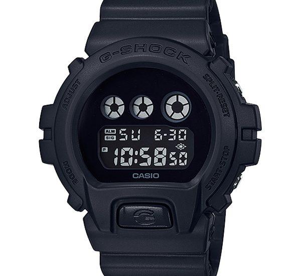 Đồng Hồ nam Casio G Shock DW-6900BBA-1 dây nhựa màu đen