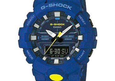 Đồng hồ Nam Casio G Shock GA-800CC-2A dây nhựa hai màu cá tính