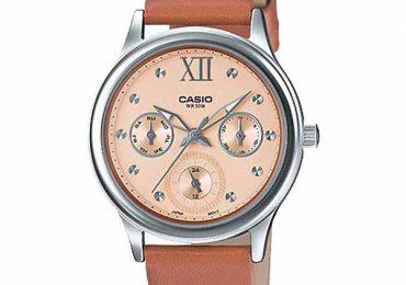 Ấn tượng với phiên bản đồng hồ Casio LTP-E306L-5AV model 2019