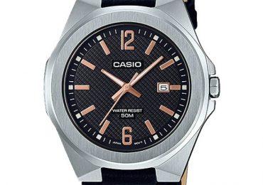 Đồng hồ Casio MTP-E158L-1AV dây kim loại phong cách thể thao