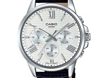 Đồng hồ Casio Nam MTP-EX300L-7AV dây da lịch lãm ấn tượng 2018