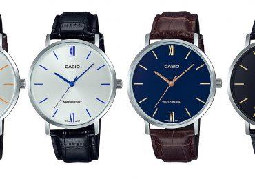 Đồng hồ Casio Nam MTP-VT01L-2B dây da siêu ấn tượng 2019
