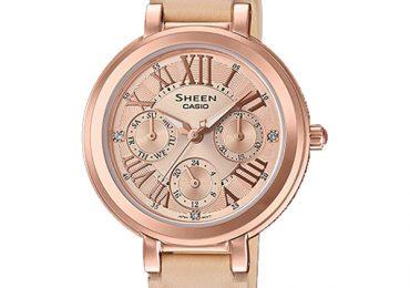 Đồng hồ Casio Nữ Sheen SHE-3034GL-9A có chống nước không?