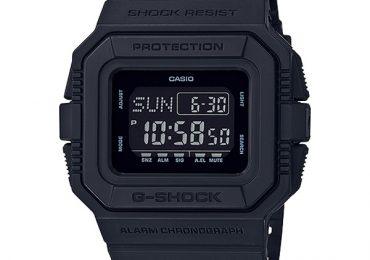 Đánh giá đồng hồ Casio G Shock DW-D5500BB-1 phiên bản hot 2019