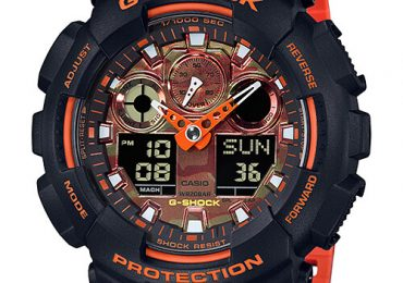Đồng hồ G Shock GA-100BR-1A mạnh mẽ hầm hố cá tính dành cho phái mạnh