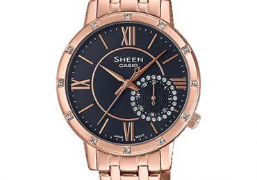 Đồng Hồ Nữ Casio Sheen SHE-3046PG-8A món quà hoàn hảo cho phái đẹp