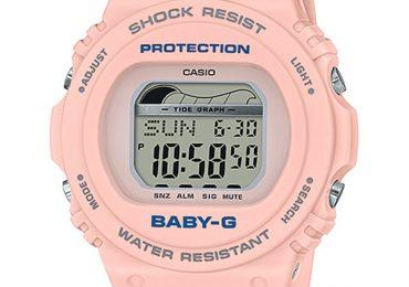 Đồng hồ CasioBaby-G BLX-570-4 màu hồng đầy ấn tượng