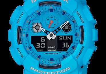 Khám phá đồng hồ G-Shock GA-100RS-2AJF dây nhựa ấn tượng