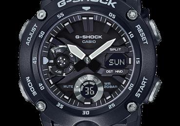 Casio G-shock GA-2000S-1A mẫu đặc biệt cho mùa hè 2019