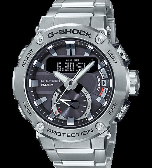 G-Shock GST-B200D-1A phiên bản vỏ kim loại đầy ấn tượng