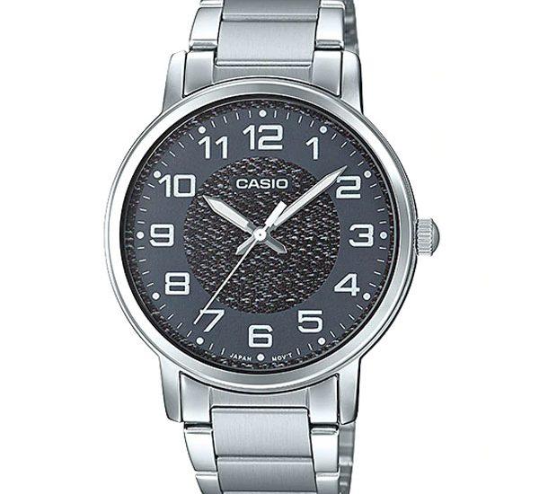 MTP-E159D-1B – Phong cách đồng hồ đơn giản ấn tương