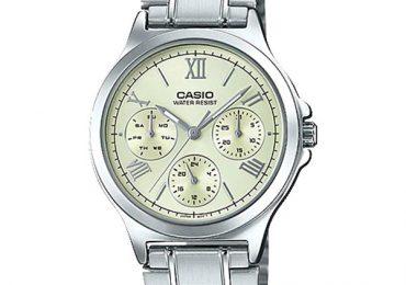Đồng hồ Casio Nữ LTP-V300D-9A1 dây kim loại cá tính siêu đẹp