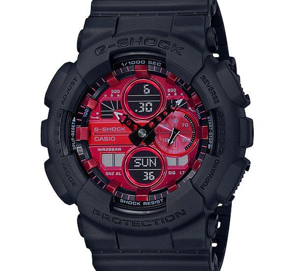 G Shock tung bộ sưu tập đồng hồ nam Adrenalin màu đỏ sưởi ấm cho mùa đông