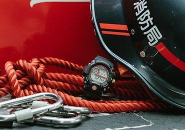 Ra mắt đồng hồ G Shock GW-9400NFST-1A kết hợp với đội cứu hỏa Kobe