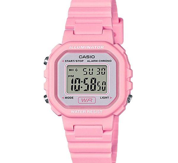 Mẫu đồng hồ Casio LA-20WH-4A1JF màu hồng mặt vuông cá tính