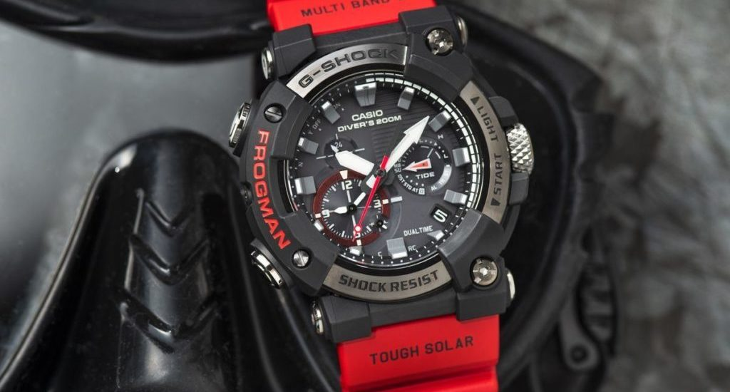 Đồng Hồ Casio G Shock GWF-A1000 Chống Nước ISO 200 Diver – Vỏ Carbon Monocoque