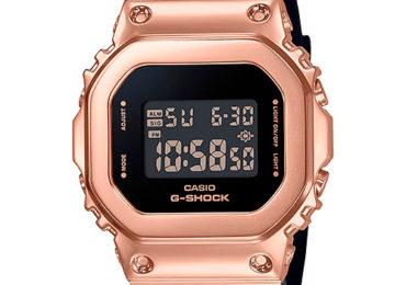 Casio G-Shock 2020 GM-S5600 – Vuông và Thép dành cho Phái Đẹp