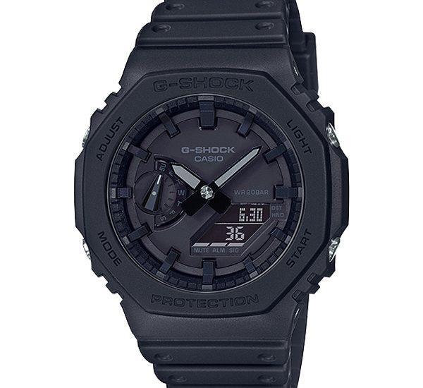 Đánh giá Đồng hồ G-Shock GA-2100-1A1 Thiết Kế Hình Bát Giác