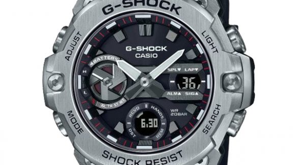 Khám phá đồng hồ Casio G-SHOCK G-STEEL mỏng nhất từ trước đến nay