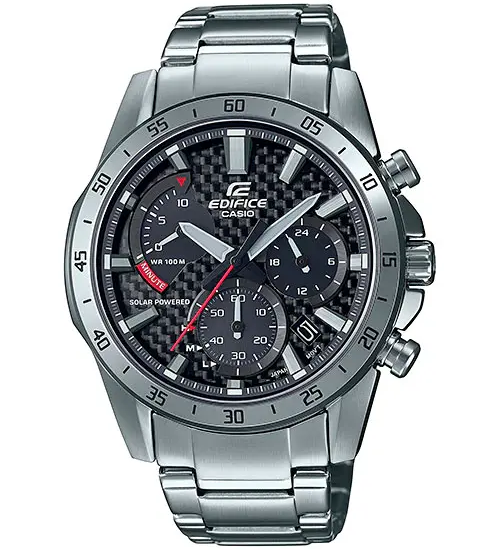 Khám phá đồng hồ Casio Edifice 2021: EQS-930 Carbon, Sun và Đồng hồ bấm giờ
