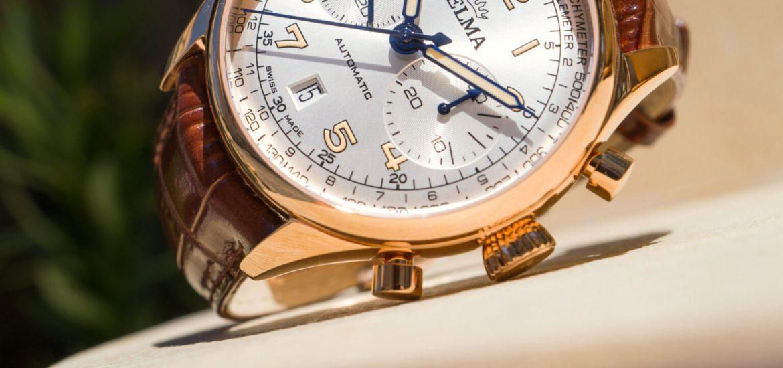 Đánh giá đồng hồ Delma Heritage Chronograph