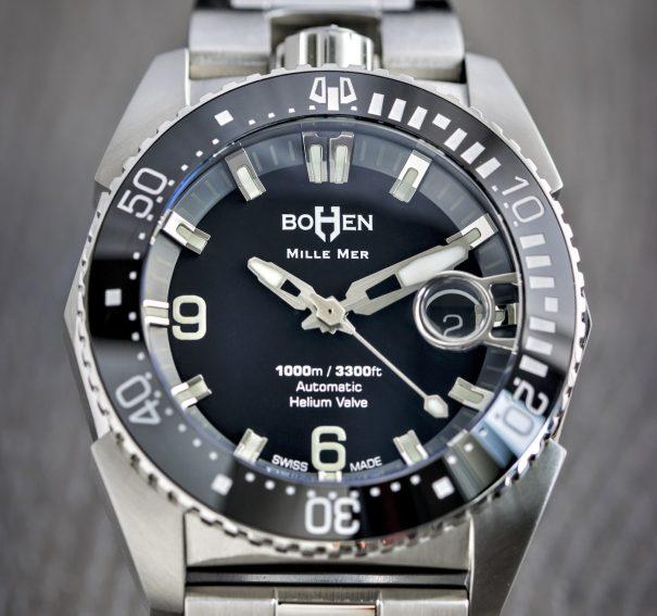 Bohen ra mắt đồng hồ lặn thanh lịch, được thiết kế kỹ lưỡng với Mille-Mer