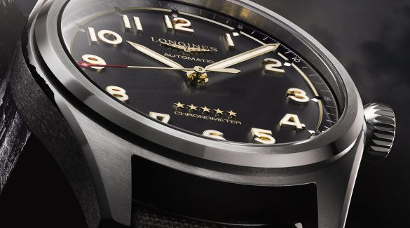 Longines ra mắt đồng hồ Spirit mới bằng Titanium